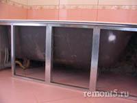 каркас для  гипсокартона под ванной