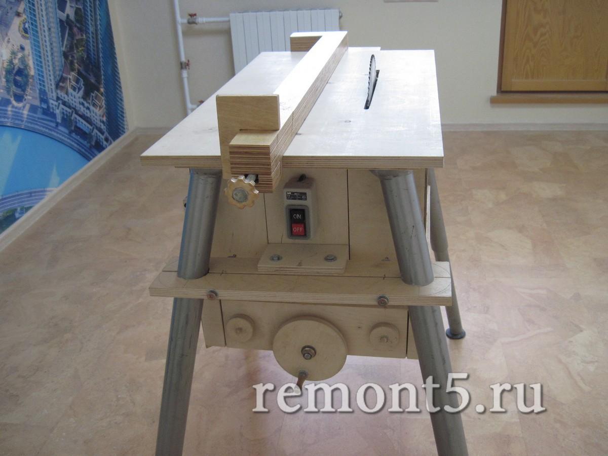 Как правильно сделать стол на циркулярку