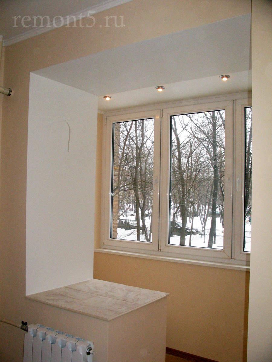 Арка на балкон комнату фото..