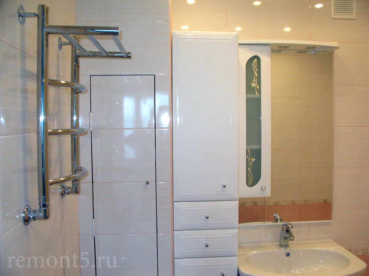 ремонт совмещенной ванной комнаты фото