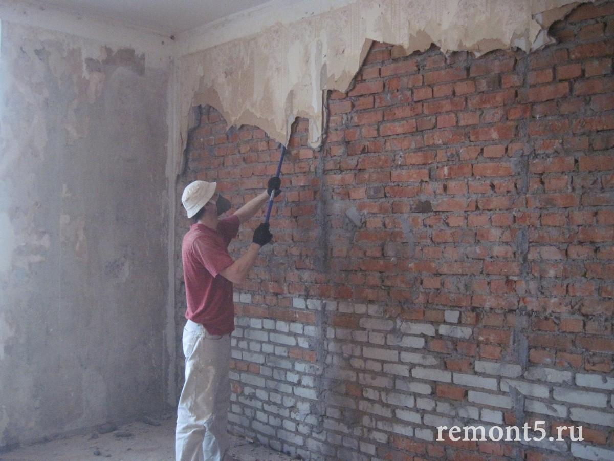 Ремонт штукатурка стен видео