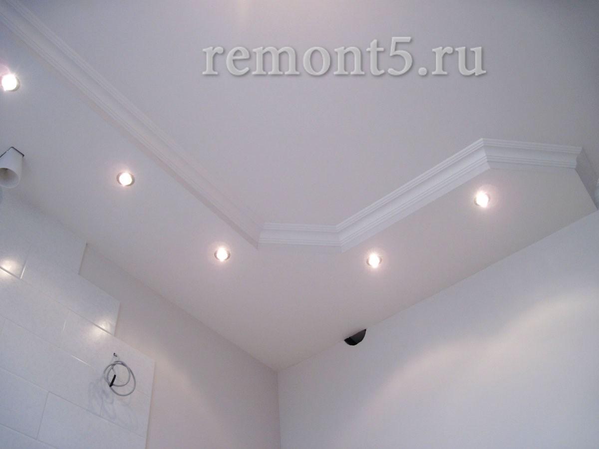 Как сделать на потолке короб 73