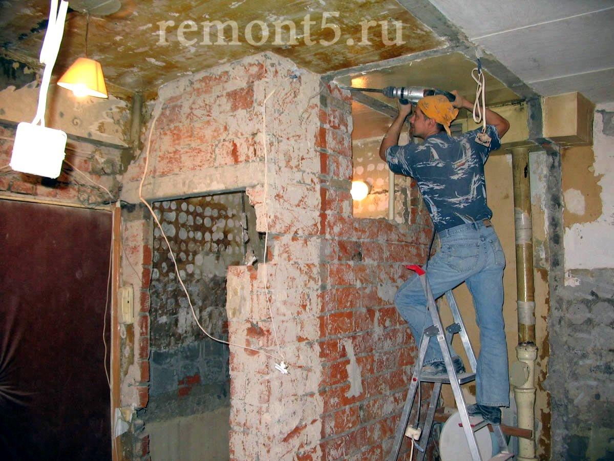 Капитальный ремонт частного дома своими руками