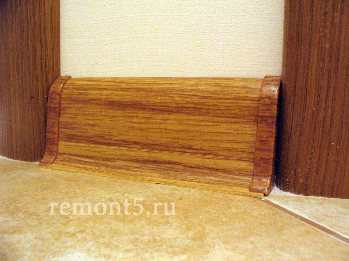 Укладка деревянных плинтусов своими руками