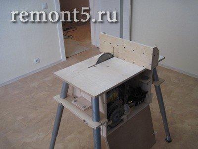 Самодельный станок с кареткой для торцевания