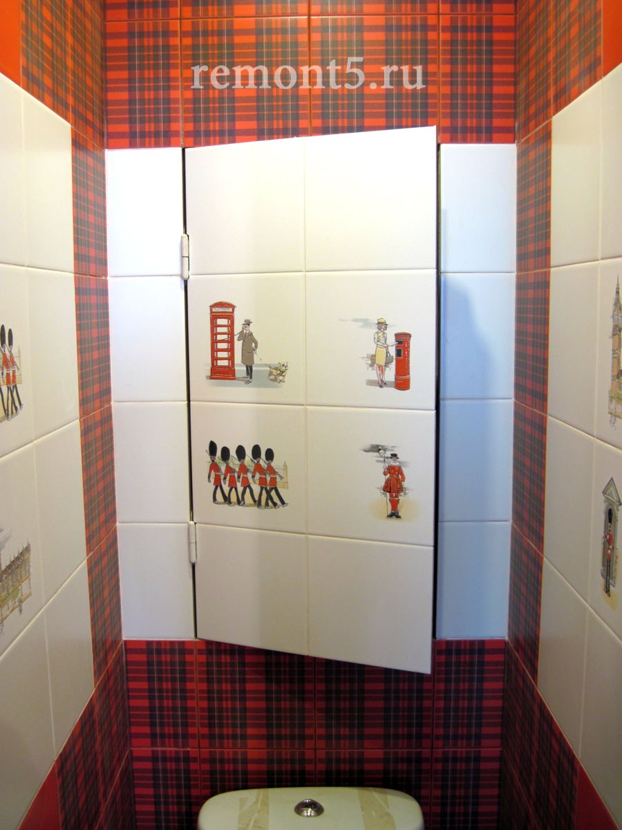лючки в туалет под плитку