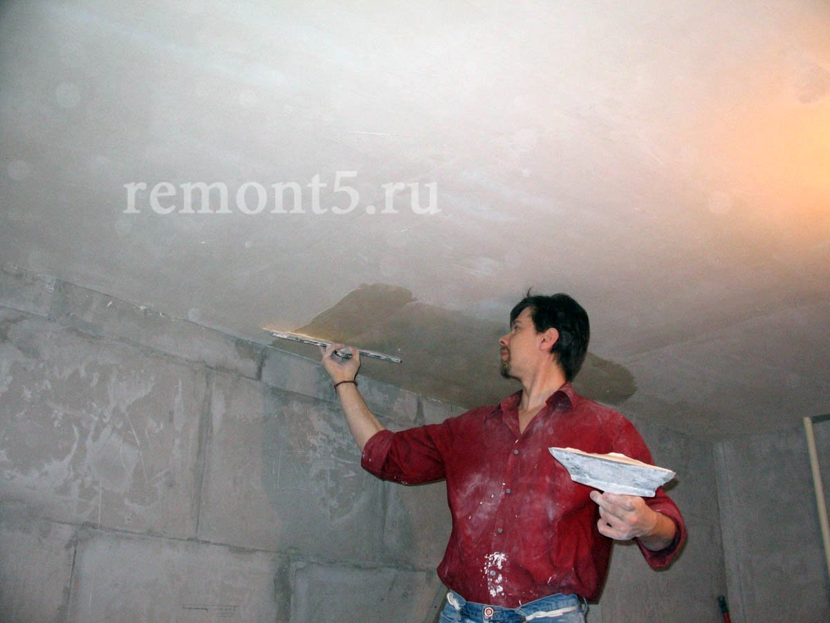 Финишная отделка потолка своими руками 78