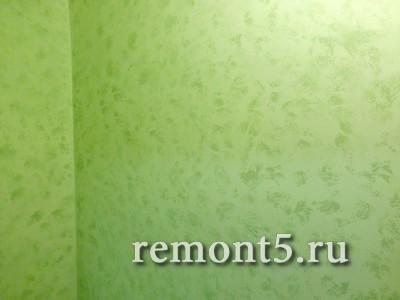 Покраска стен спонжингом