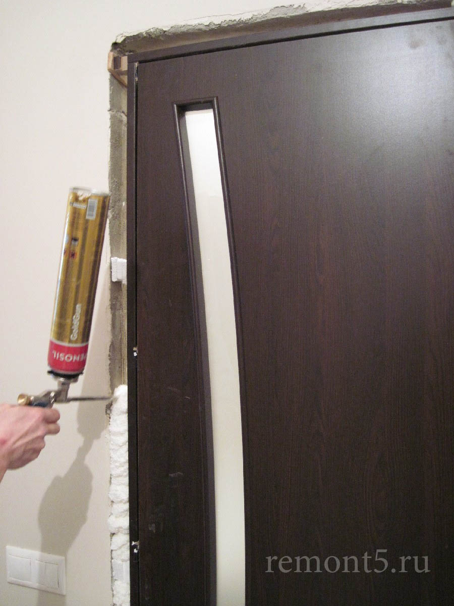 Как починить межкомнатные двери своими руками фото